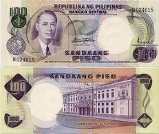 PHILIPPINES       100 Piso       P-147b       ND (1969)       UNC - Filippine