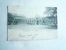 1908 ERQUELINNES LA GARE EDITIONS RONFLETTE CIRCULÉE DOS SIMPLE  ETAT BON ETAT - Erquelinnes