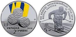 Ukraine - 2 Hryvni 2018 UNC XII Winter Paralympic Games Lemberg-Zp - Ucraina