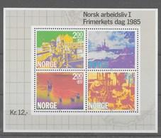 Hoja Bloque De Noruega Nº Yvert HB-5 ** - Hojas Bloque
