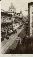 CATANIA VIA ETNA 1925 ANIMATA TRAMWAY - Catania