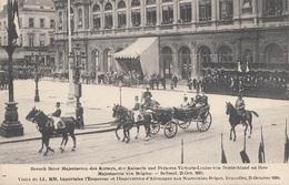Besuch Ihrer Majestaeten Des Kaisers, Der Kaiserin Und Princess Victoria-Louise Von Deutschland An Ihre Majestaeten Von - Königshäuser
