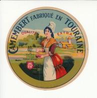 Etiquette De Fromage Camembert. - Cheese