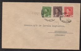 IRAQ - IRAK - BAGHDAD / 1938 LETTRE POUR LA SUEDE (ref LE2536) - Irak