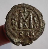 BYZANCE. FOLLIS IUSTINUS II AND SOPHIA. 30 Mm. / 12,06 Gr. - Byzantine