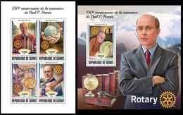 Guinea 2018 Paul P. Harris, Rotary - República De Guinea (1958-...)