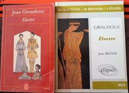 ELECTRE (Jean Giraudoux) + Livret 40 Questions Réponses Sur L'oeuvre - Theatre