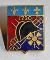 Insigne Pin's Militaire 4° RA 4 Régiment Artillerie 1720 DRAGO - Army