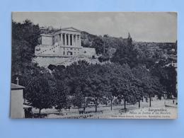 C.P.A. : 07 LARGENTIERE : Palais De Justice Et Les Récollets, Animé - Largentiere