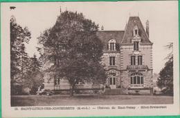 28 - Saint Lubin Des Joncherets - Château Du Haut Venay - Hôtel Restaurant - Editeur: Aube N°12 - Autres Communes