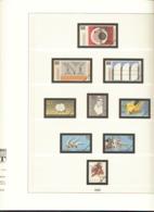 BRD Deutschland Lindner Artikel 120 B Vordruckblätter 1982 - 1992 Gebraucht Ohne Marken - Albums & Binders