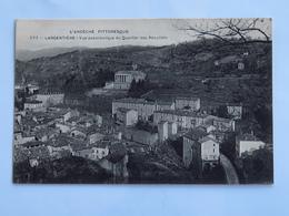 C.P.A. : 07 LARGENTIERE : Vue Panoramique Du Quartier Des Récollets - Largentiere