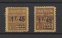 FRANCE. YT  Colis Postaux  88-88A  Neuf * 1928 - Colis Postaux