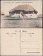 Congo Belge 1910 - Carte Postale Nr. 77. Habitation à Moliro (Lac Tanganyka)  Ref. (DD)  DC0207 - Congo Belge - Autres