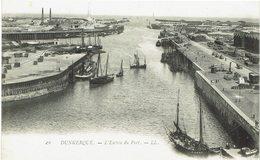 CPA - France - (59)  Nord - Dunkerque - L'Entrée Du Port - Dunkerque