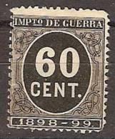 España Impuesto De Guerra 28 (*) Cifra 0.60 - Impuestos De Guerra
