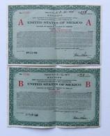 Etats Unis Mexico Mexique 1924 - Actions & Titres