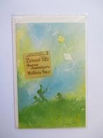 Illustration Enfants Joant Au Cerf Volant Carte Non écrite Dans Son Emballage D'origine Années 70 - Juegos Y Juguetes