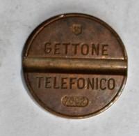 Jeton Cabine Téléphonique Italie 1976 Gettone Telefonico 7602 ESM : Emilio Senesi Medaglie - Monetary/Of Necessity