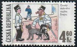 Tchéquie 1997 Yv. N°151 - Soldat Svejk - Oblitéré - Tchéquie