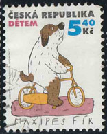 Tchéquie 2001 Yv. N°273 - Chien Maxipes Fik - Oblitéré - Tchéquie
