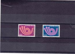 YOUGOSLAVIE 1973 EUROPA Yvert 1390-1391 NEUF** MNH - 1945-1992 République Fédérative Populaire De Yougoslavie