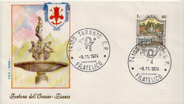 Italy Set On 3 FDCs - Architecture