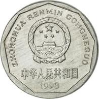 Monnaie, CHINA, PEOPLE'S REPUBLIC, Jiao, 1998, TTB+, Aluminium, KM:335 - Chine