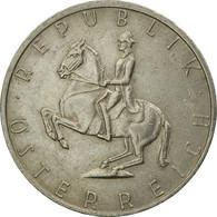 Monnaie, Autriche, 5 Schilling, 1987, TB+, Copper-nickel, KM:2889a - Austria