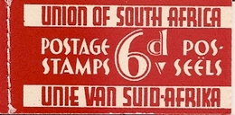SOUTH AFRICA, 1936, Booklet 11, 6d, Red Razor Booklet - Libretti