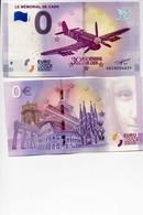 Militaria - WW2 - Billet Souvenir 0 Euro - Le Mémorial De Caen - Edition 2018-3 - Specimen
