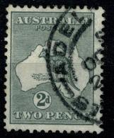 Ref 1234 - 1915 Australia 2d KGV Used Kangeroo Stamp - SG 24 - 1855-1912 South Australia