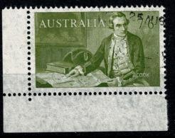 Ref 1234 - Australia 1964 Stamp SG 357 - 7/6 Captain Cook - Good Used Cat £19+ - 1966-79 Elizabeth II