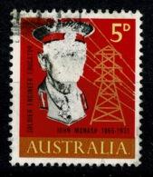 Ref 1234 - Australia 1965 Stamp SG 378 - Printing Error ? - Part Missing Colour On Head - 1952-65 Elizabeth II : Pre-Decimals