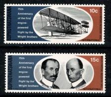 Ref 1234 - Malta 1978 - 75th Anniversary Aviation - MNH Set Of 2 Stamps - Malta