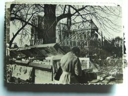 Frankrijk France Frankreich Parijs Paris Notre Dame Et Bouquiniste - Notre-Dame De Paris