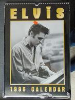 Elvis »Presley- Calendrier De 12 Mois Pour 1996 Par  Oliver Books - Unclassified