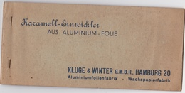 GERMANY - KLUG & WINTER - HAMBURG -  OLD ALUMINUM PAPER FOR CANDIES - Other Collections