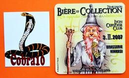 N°573  LES NOUVEAUTES  LOT 209 - Beer Mats