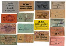 Allemagne // NOTGELD // Collection // LOT De 500 Billets - [11] Local Banknote Issues