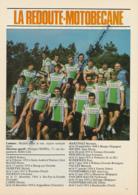 CYCLISME : PHOTO, TOUR DE FRANCE 1981, L'EQUIPE LA REDOUTE MOTOBECANE, BAZZO, MARTINEZ, PESCHEUX, VALLET, ALBAN... - Cycling