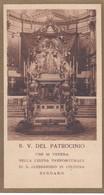 SANTINO - B. V. DEL PATROCINIO CHE VENERA NELLA CHIESA PREPOSITURALE DI S. ALESSANDRO IN COLONNA BERGAMO - Devotion Images