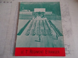 HISTORIQUE  DU 1er REGIMENT ETRANGER - 1914-18