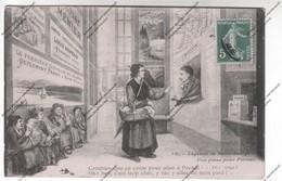 Cpa Légende De Saint Saulge - Une Place Pour Pornat (chocolat Menier, Liqueur Pepermint Franc à Revel) - Religions & Croyances