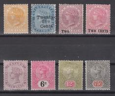 CEYLON 1883-1899 - Queen Victoria - Ceylon (...-1947)
