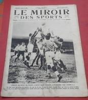 Miroir Des Sports N°30 27 Janvier 1921 Ballons Spériques Gordon Benett,Henri Pelissier,Curling Ecosse,René Crabos - Sport