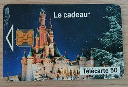 France - Télécarte 1993 - France Télécom - EuroDisney Le Cadeau  50 Unités - France
