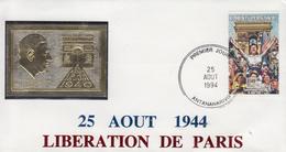 Enveloppe  FDC  1er  Jour  MADAGASCAR   Anniversaire    Libération   De   PARIS   1994 - Madagascar (1960-...)