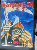 Iron Maiden- Calendrier De 12 Mois Pour 1995 Par  Danilo - Unclassified