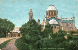 ALGER-NOTRE-DAME D AFRIQUE-NON VIAGGIATA - Algeri